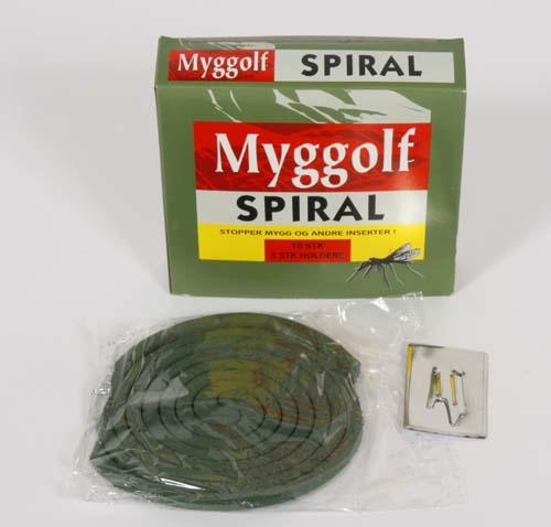 Myggolf  Myggspiral