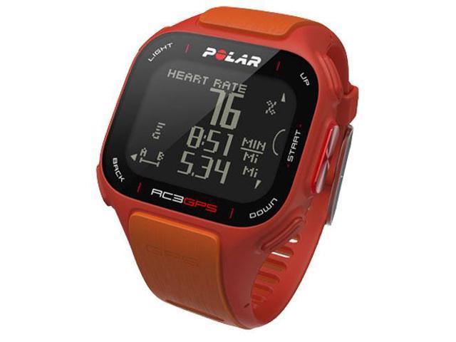 RC3 GPS RED/ORA HR