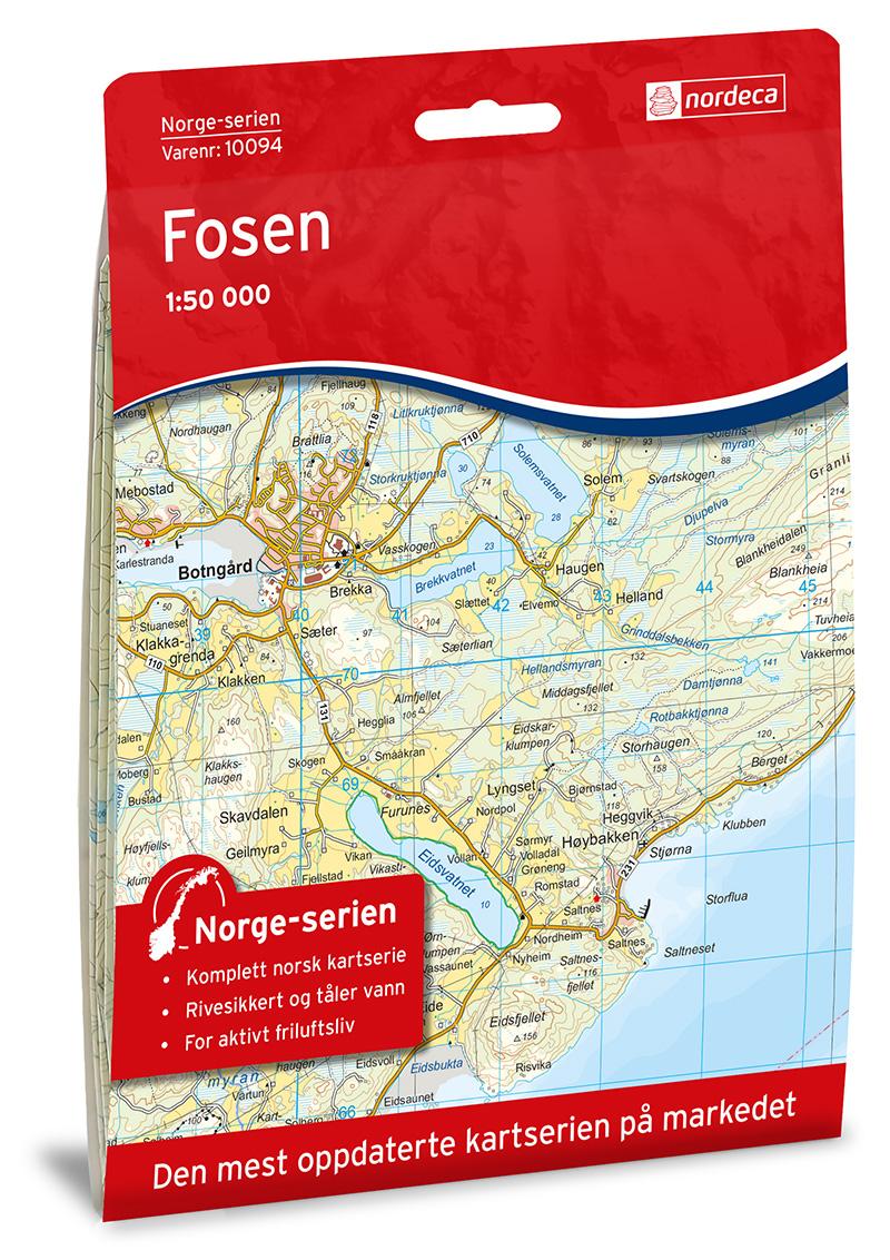 Fosen 1:50000