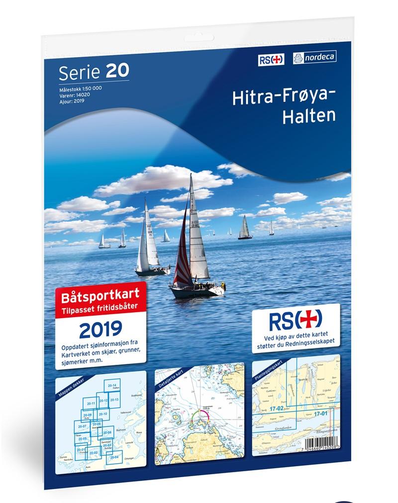 Båtsportkart 20 Hitra-Frøya-Halten 1:50000