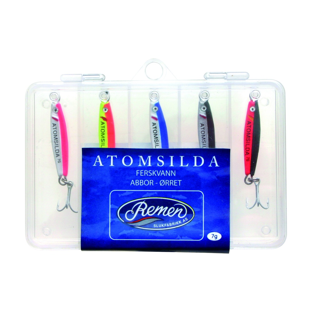 ATOMSILDA 20G 5STK M/BOKS