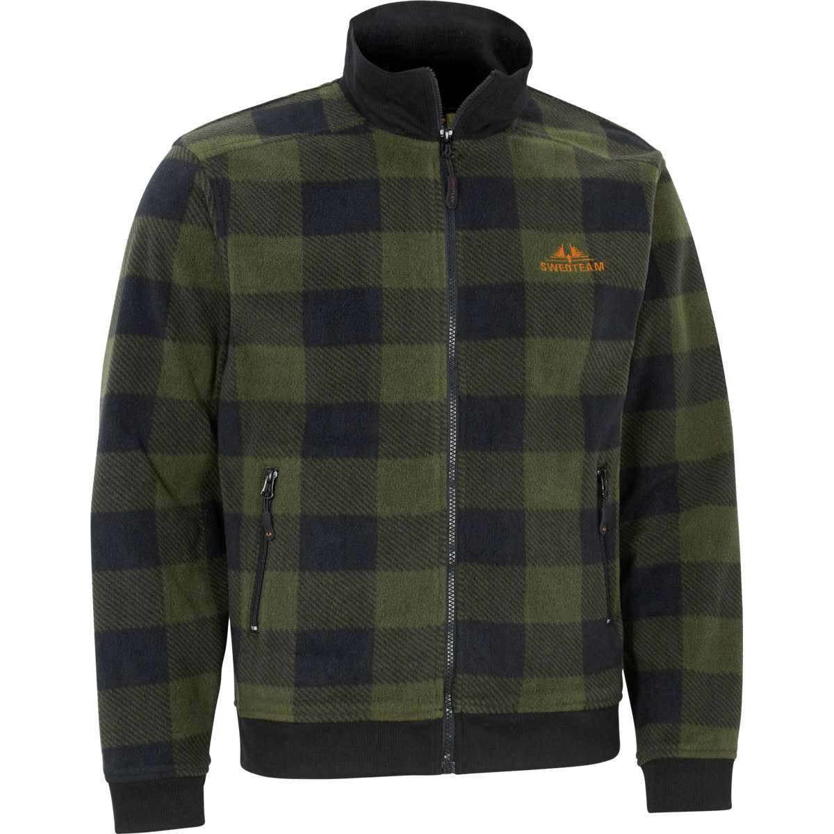 Swedteam Lynx M Sweater Full-zip Green