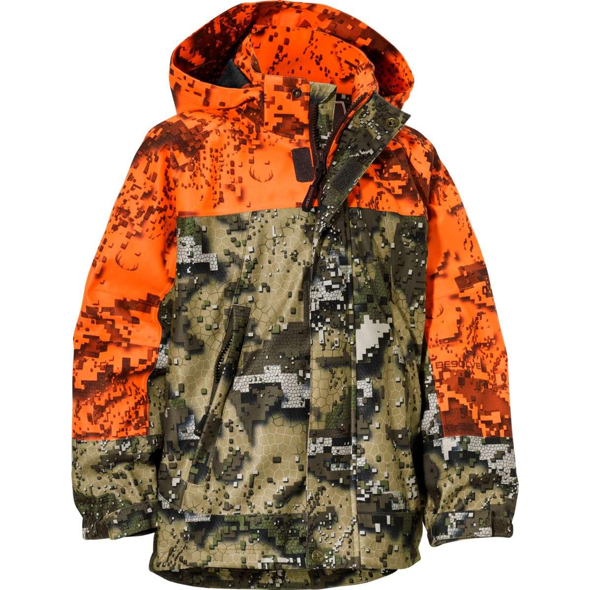 Swedteam Ridge JR Jacket Desolve Fire