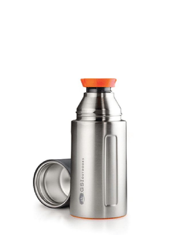 GSI  Stainless 0,5 l Vacuum Bottle Silver