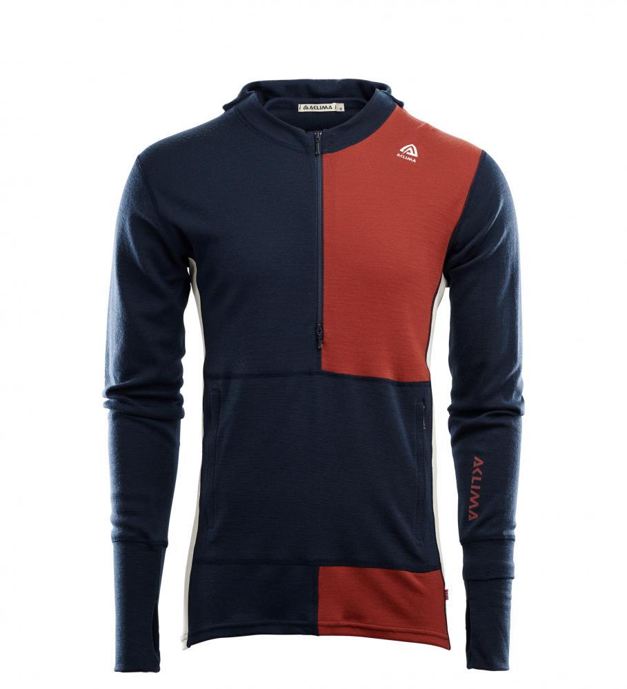 Aclima  WarmWool Hood Sweater w/zip M