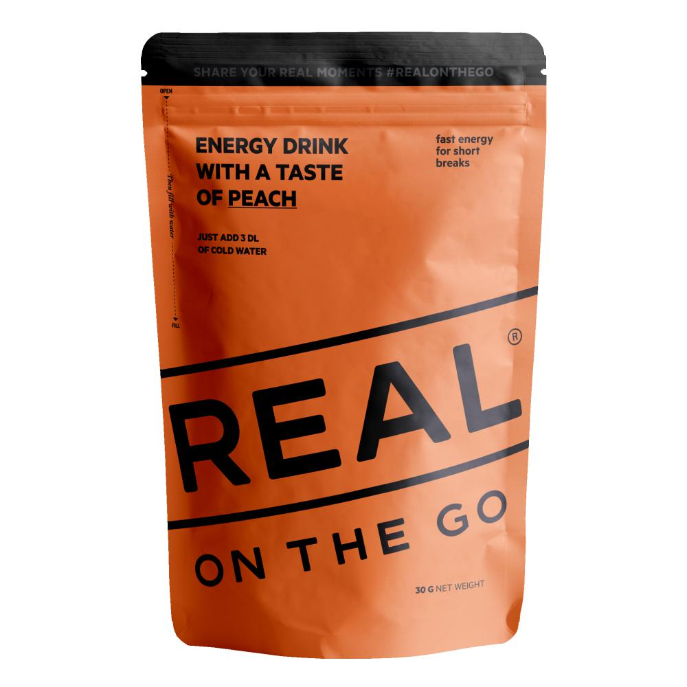 Real Turmat  OTG Energy drink Fersken