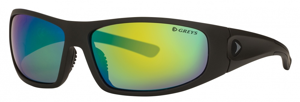 Greys  G1 Matt Carbon/Green Mirror