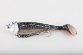 Pro-Hunter Mullet Shad Jigg Black 500gr