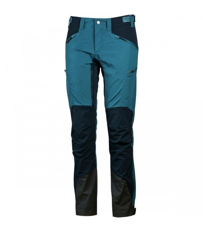 Lundhags Makke Pants Dame petroldeep blue | Gode tilbud hos