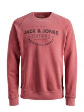JACK & JONES JJEJEANS WASHED SWEAT CREW NECK