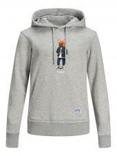 JACK & JONES JORFRENCHIE SWEAT HOOD JR