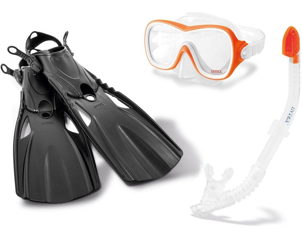 Intex Dykkesett Wave Rider M/Føtter i str M