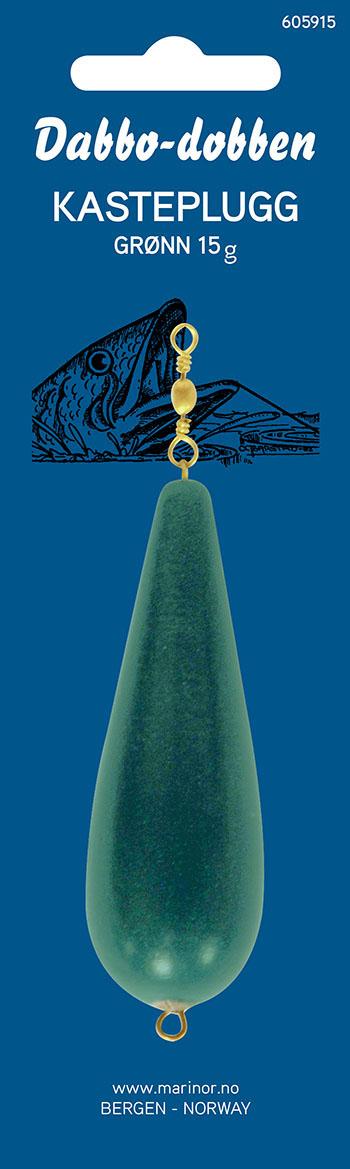 Dabbo Kasteplugg grønn 15g