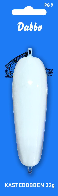 Dabbo Kasteplugg hvit 32g