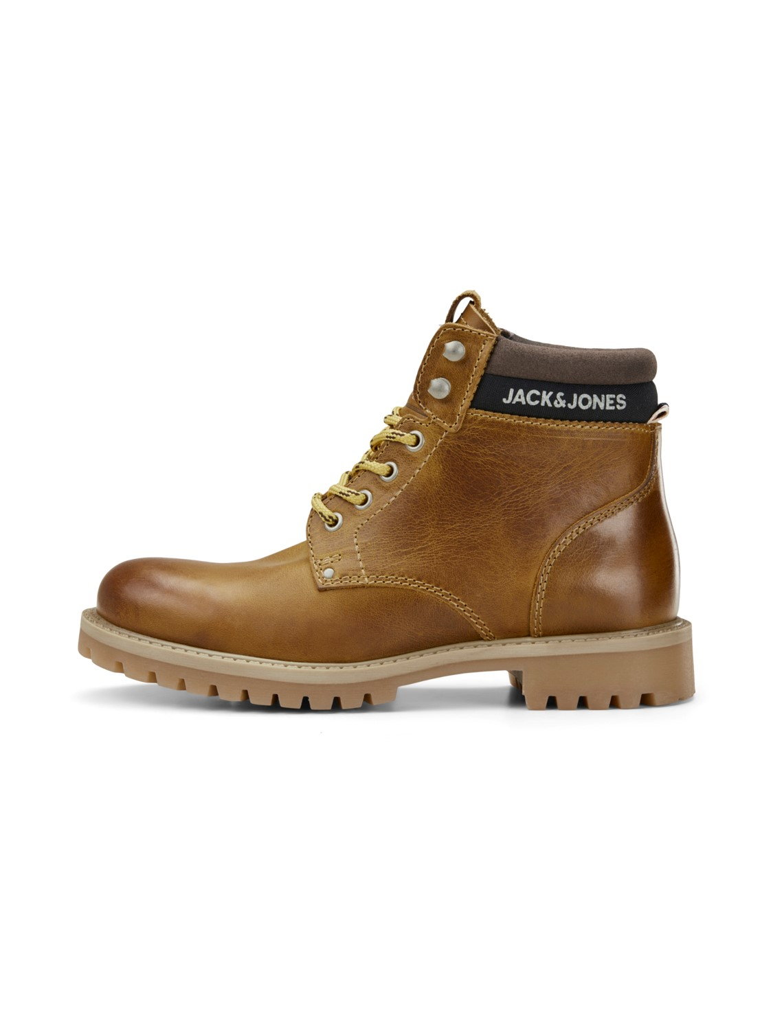 JACK & JONES JRSTATTON LEATHER HONEY JR