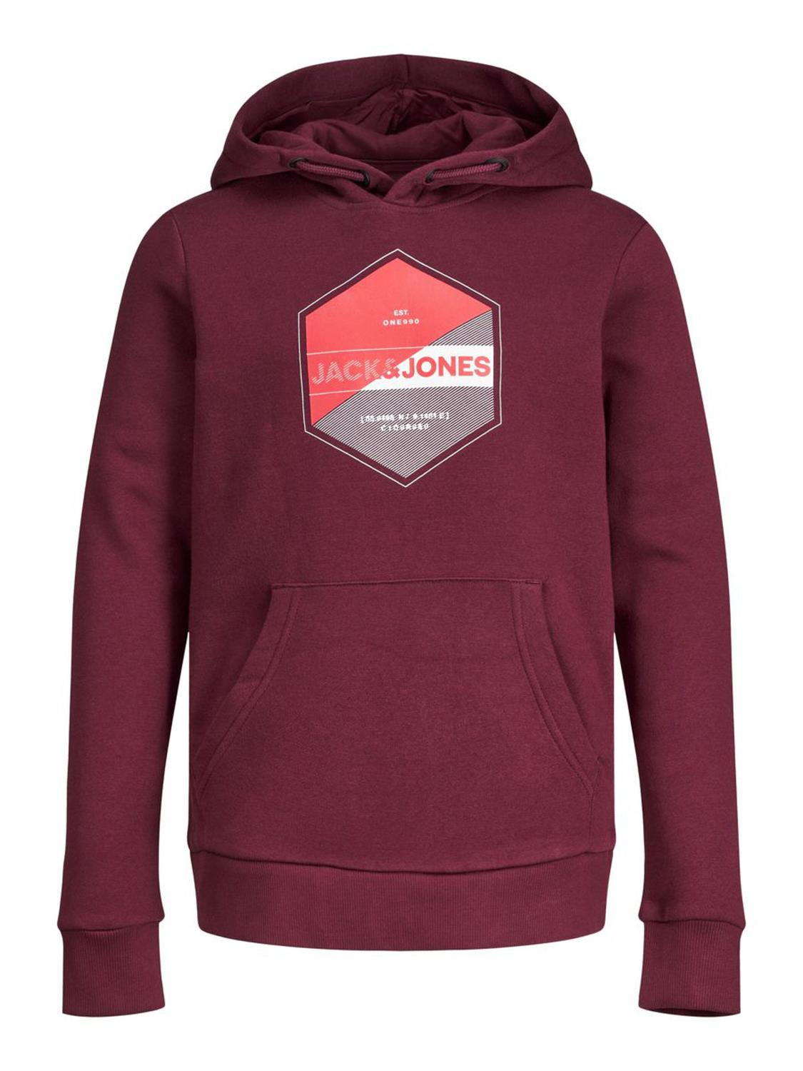 JACK & JONES JCOLAMBO SWEAT HOOD FST JR