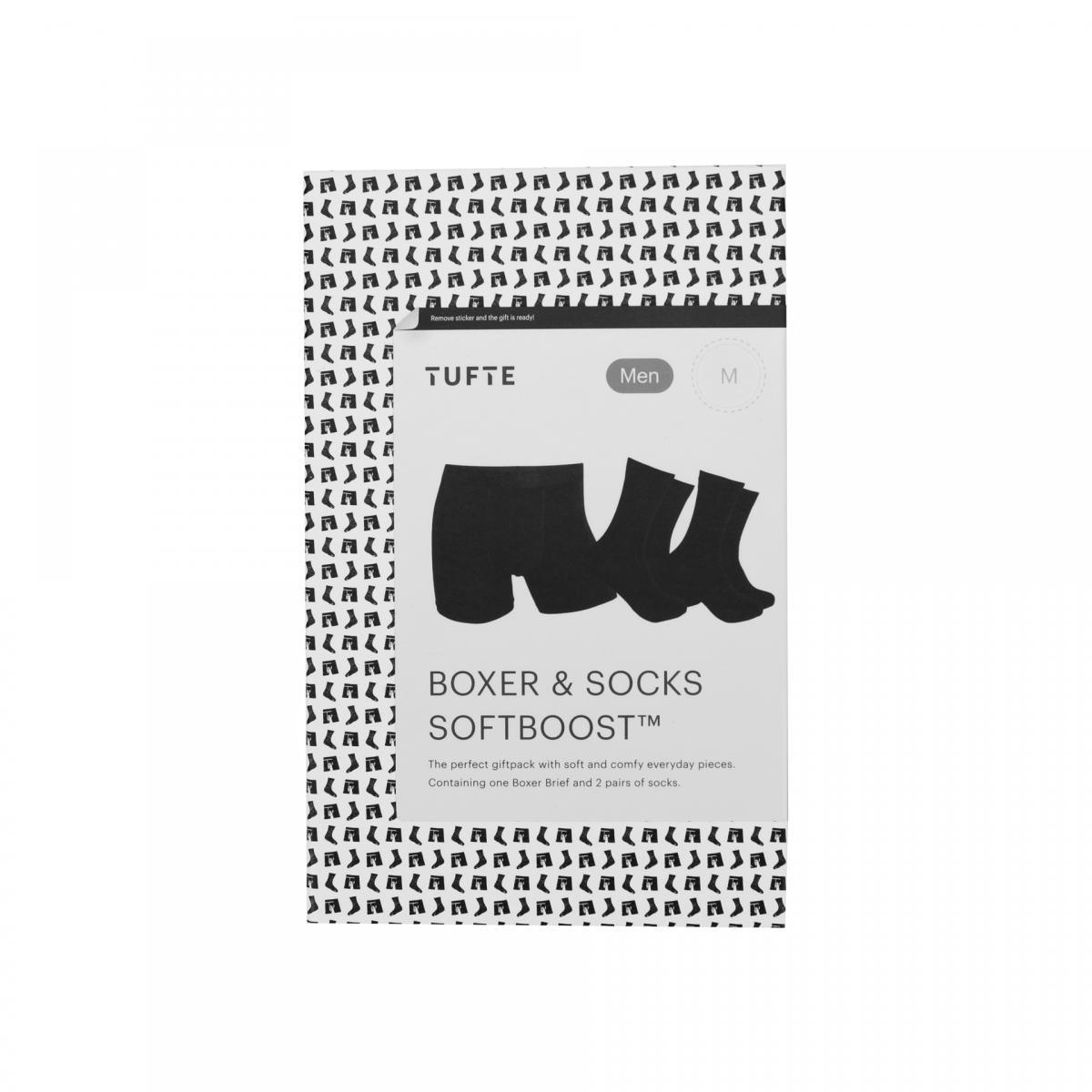 Tufte Wear  Mens Boxer & Socks Giftbox