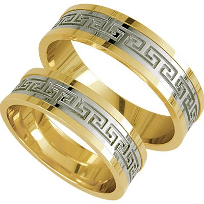 FORL.RING GULL BICOLOR 5,5mm VERSACE