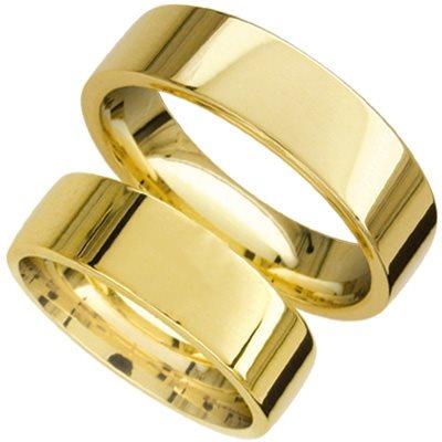 FORL.RING GULL 6mm GLATT /FLAT /KRAFTIG MODELL
