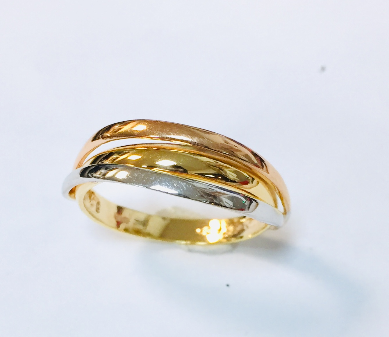 RING GULL 3-FARGET 3R GLATTE (1 SKINNE UNDER )