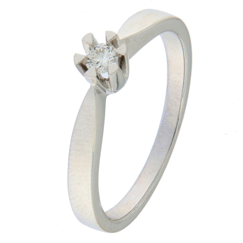 Ring hv.g 0,10ct TWSI Victoria (veil. 7490,-)