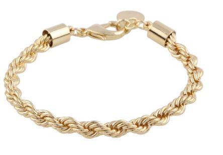 """Armlenke """"gull"""" Snø tykk cordel 16-19cm"""