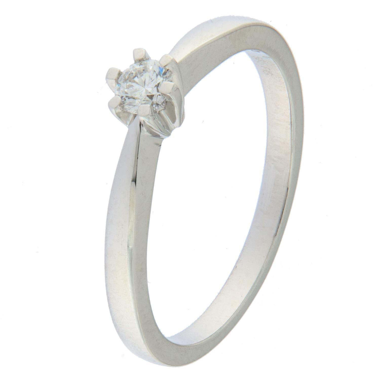 Ring hv.g 0,15ct WP1 Princess (veil. 9990,-)