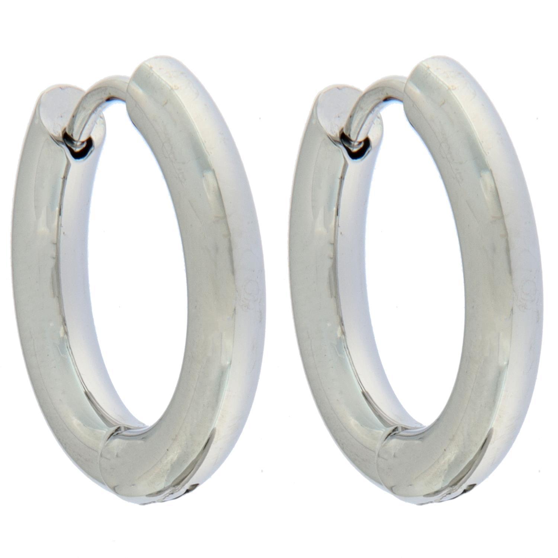 Øreringer stål 18Ø ,3mm rund