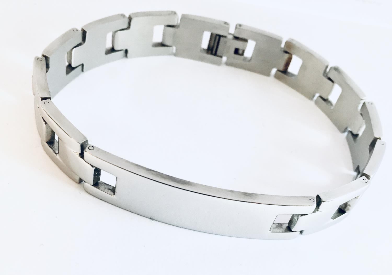 Armlenke stål 22cm leddet m/plate 12mm bred