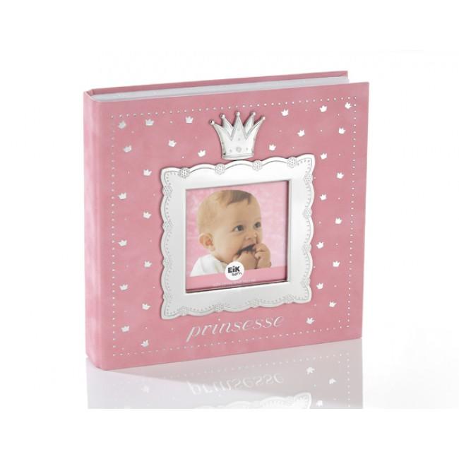 Fotoalbum Prinsesse lys rosa