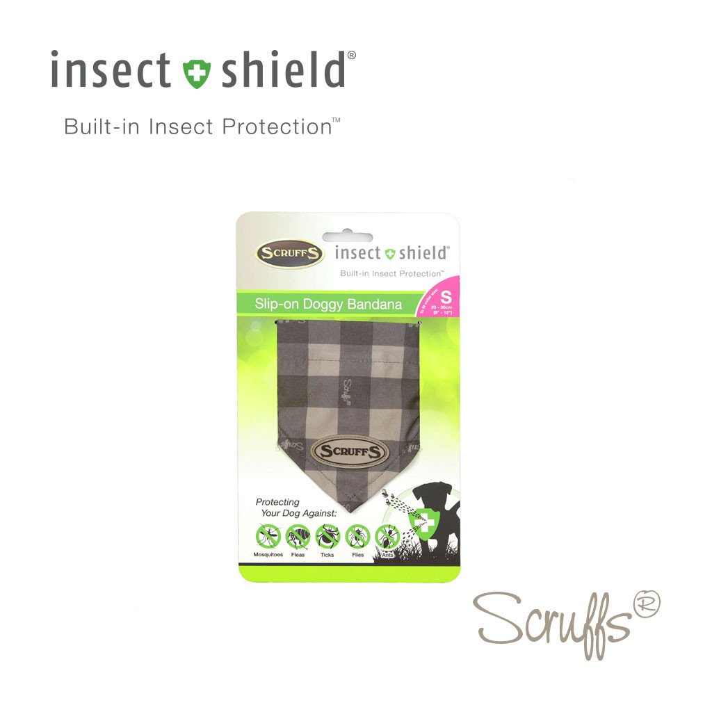 "Scruffs ""Insect Shield"" Bandana, XS/S,"