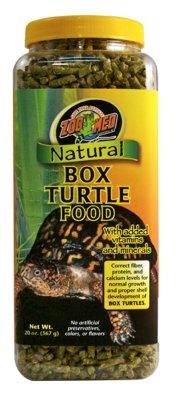 ZOO MED NATURAL BOXTURTLE FOOD 567GR