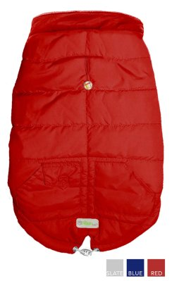 GO FRESH PET ARCTICPARKA SCOOTER RED S 33CM