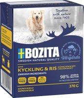 Bozita Naturals Hund Kylling & Ris 370g