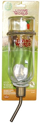 DRIKKEFLASKE GLASS LIVING WORLD 769ML