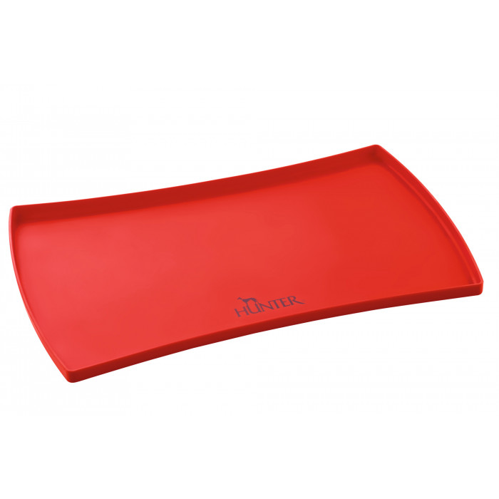 Hunter Silicone Pad for Bowls S Selection, red 48x30 cm