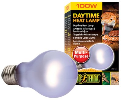 "DAYTIME HEAT LAMP 100W A19 E27 EXOTERRA""GUL"""