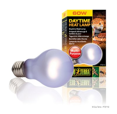 "DAYTIME HEAT LAMP 60W A19 E27 EXOTERRA ""GUL"""