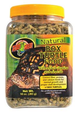 ZOO MED NATURAL BOXTURTLE FOOD 284GR