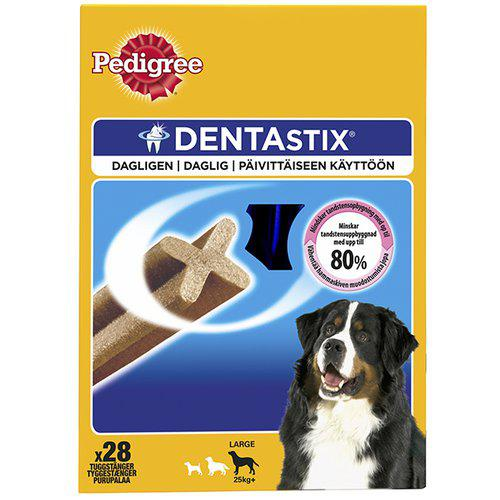 MF PEDIGREE DENTASTIX LARGE 28ST OBS 4ST/LÅDA