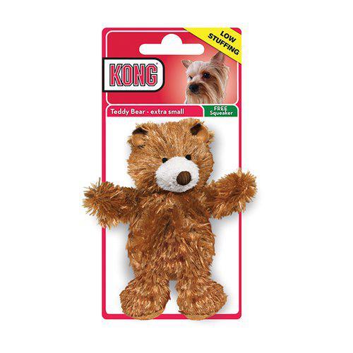 KONG PLUSH TEDDY BEAR XS