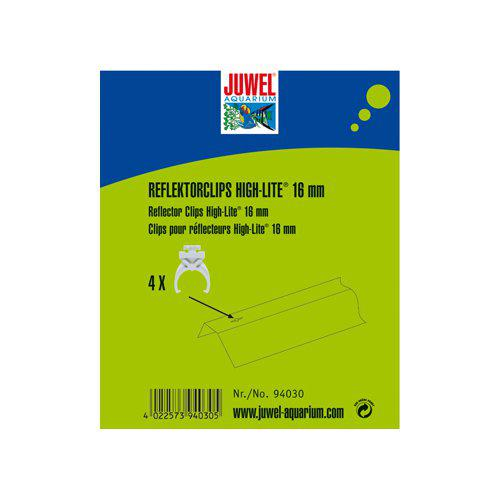 JUWEL REFLEKTORCLIPS 4ST T5 PLAST 16mm