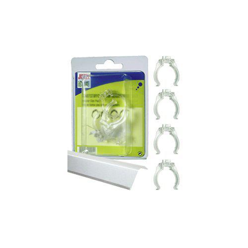 JUWEL REFLEKTORCLIPS 4ST T8 PLAST 26mm