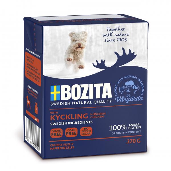 Bozita Naturals Hund Junior Kylling 370g
