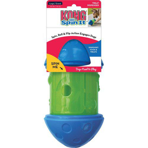 KONG SPIN IT TREAT TOY LARGE