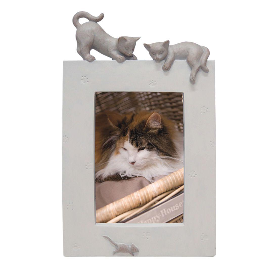 HH Ramme katt, Beige/Hvit