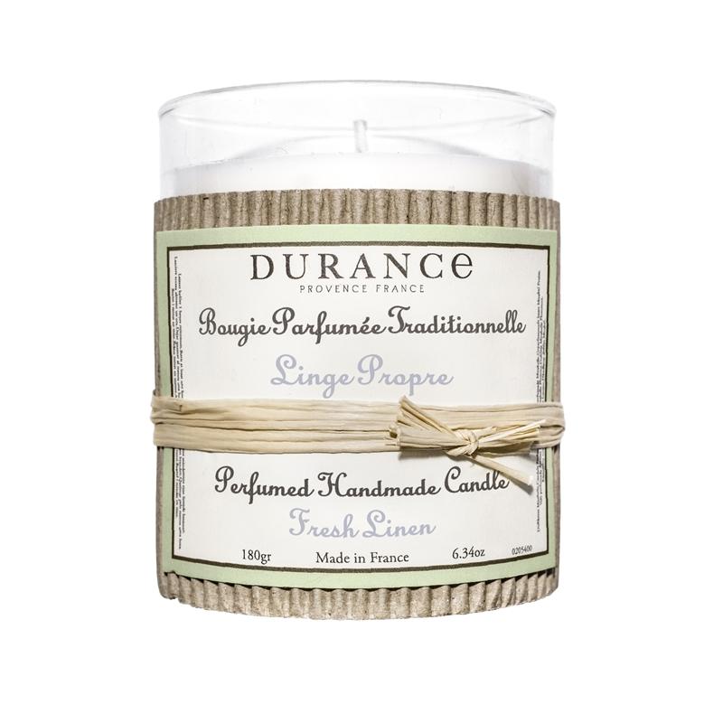 Durance duftlys Fresh linen