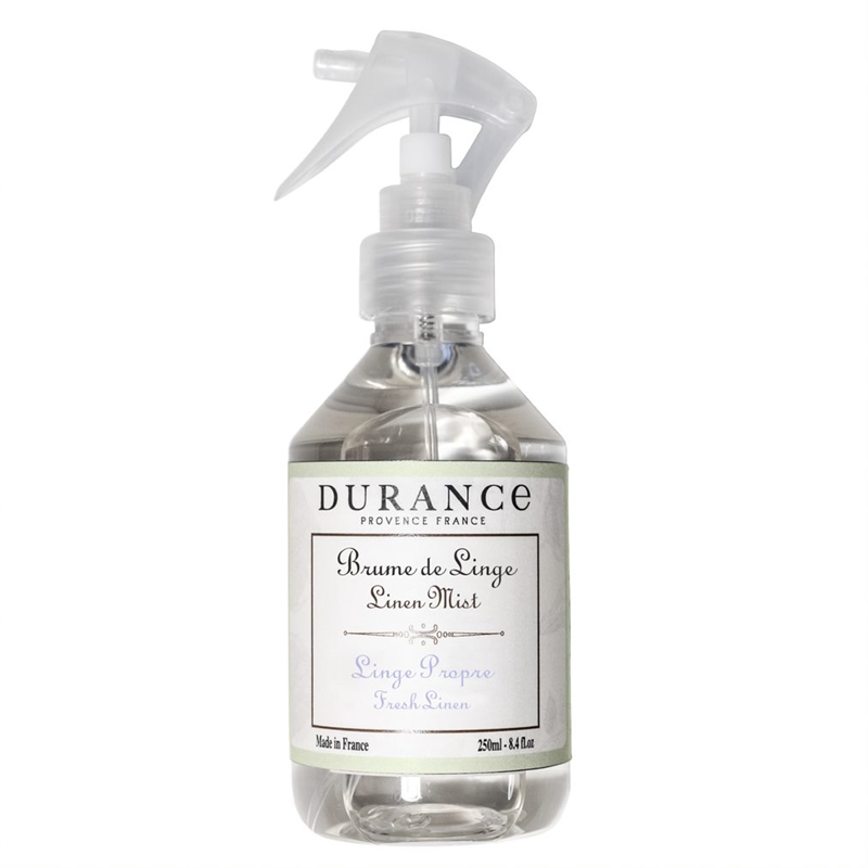 Durance linen spray Fresh linen 250 ml.