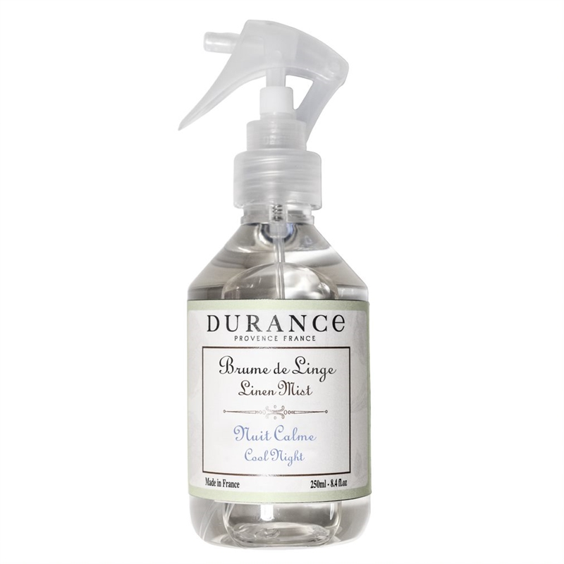 Durance linen spray Cool night 250 ml.