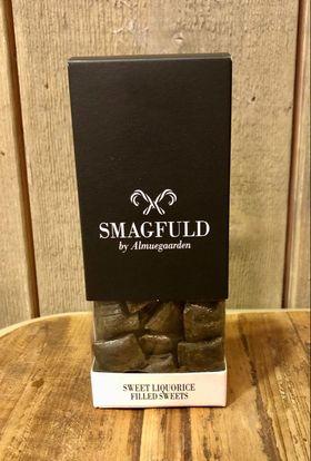 Smagfuld fylte drops Sweet liquorice